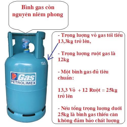 Bình gas nào đạt chuẩn chất lượng có độ an toàn cao