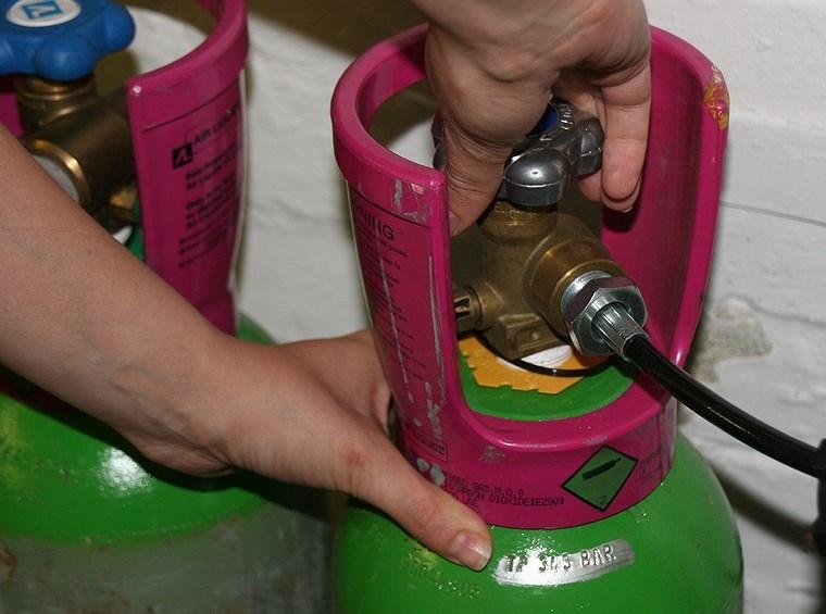 Quy trình xử lý khi có khí ga rò rỉ