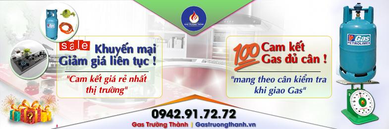 Công ty gas Trường Thành chuyên cung cấp Gas – Bếp gas & các linh kiện gas chất lượng