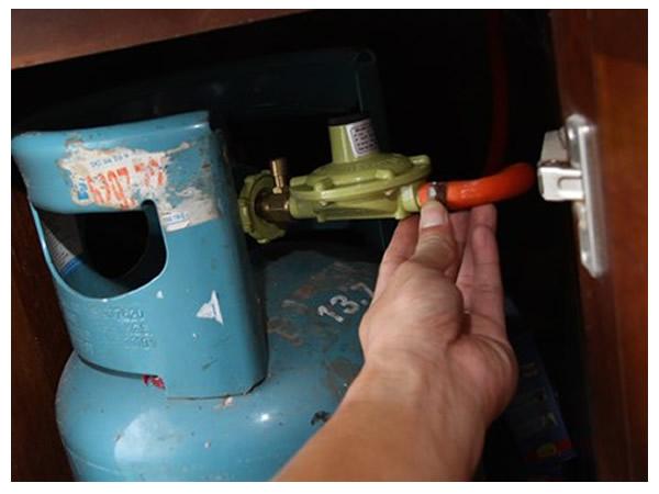 Bộ van gas điều áp