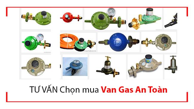 Tư vấn chọn mua van gas an toàn